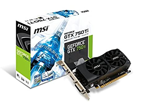 Nvidia Gtx 750 Ti - MSI N750Ti-2GD5TLP Carte graphique Nvidia GeForce GTX