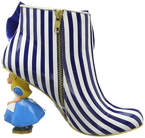 Irregular Choice - Who In The World Am I?, Scarpe col Tacco Donna Blu (Blue/White)
