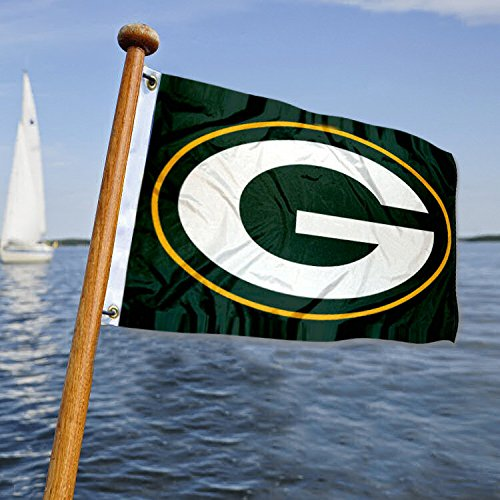 Green Bay Packers Boot und Golf Cart Flagge Packer Boot