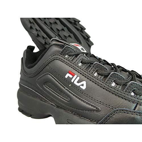 Fila Donna Bianco Disruptor II Premium Sneaker 5439d281d23