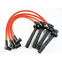 Juego de cables de encendido 10,2 mm 8034 para Civic Racing Civic del Sol 1992-2000
