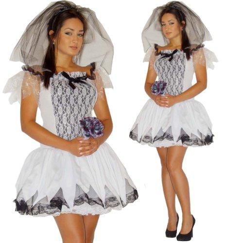 Maylynn 13705 - Kostüm Zombie Braut, 3-teilig, Gr. M