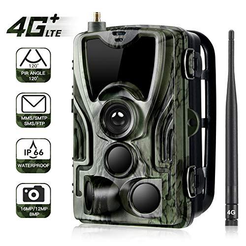 CVB Jagdkamera Trail Kameras 16MP 1080P IP65 Nachtsicht-Fotofalle Wireless Wildlife Surveillance Tracking Surveillance-tracking