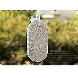 Blendx 1 Stück natürlichen Bimssteine Oval Füße Peeling-Werkzeug Pedicure Werkzeug für Fußpflege