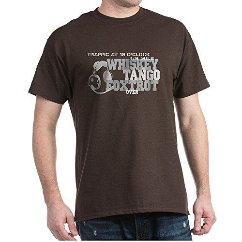 CafePress Aviation Humor-T-Shirt Aus 100% Baumwolle Gr. Medium, Braun -