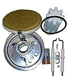 Buderus Mischsystem komplett Set BRE 1.1-21 kW geeignet für schwefelarmes Heizöl mit Anleitung