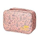 Clode® Tragbare Make-up Kosmetik Toilettenartikel Wäsche Tasche Beutel Handtasche (E)