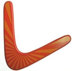 Fancyku Wooden Boomerang - for Kids 8-18! Great Returning Boomerangs