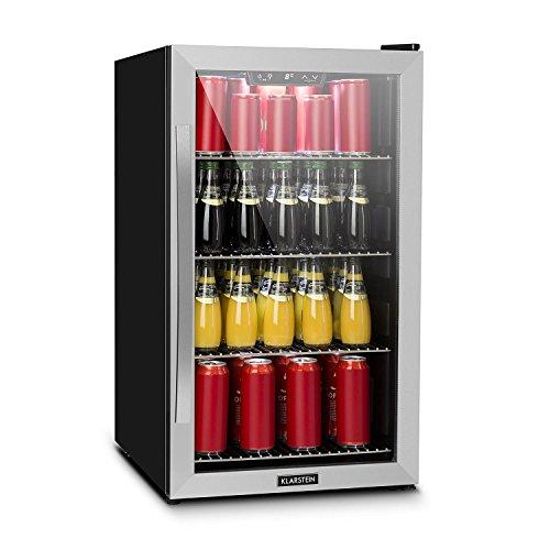 Klarstein Beersafe 4XL • Minibar • Nevera pequeña para bebidas • Nevera...