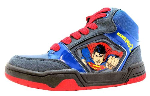 Superman  Kent,  Jungen Kent , Blau - blau - Größe: 34 (Superman Stiefel)
