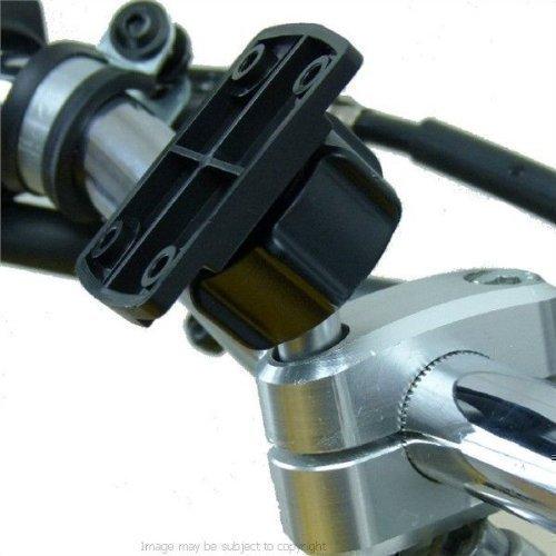 Motorrad M8 Lenkstange Top Klemme Halterung mit VERSTÄRKER Adapter für Garmin Zumo 390LM