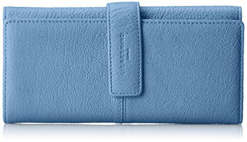 Liebeskind Berlin Damen Leonief8 Core Geldbörse, Blau (Denim Blue), 4x19x9 cm