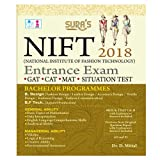 National Institute of Fashion Technology Entrance Exam Books 2018 - GAT, CAT, MAT, SITUATION Test