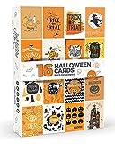16x Halloween Karten von Joy masterstm Vol. 1| Große Pack mit Umschläge