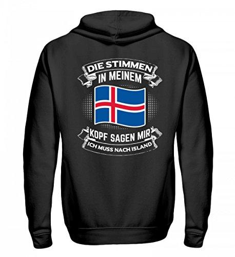 Chorchester Für alle, die Island lieben! - Zip-Hoodie Island Zip Hoodie
