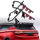 Honhill Portabici Auto Posteriore Caricamento di 3 biciclette Pieghevole Supporto Bici Auto