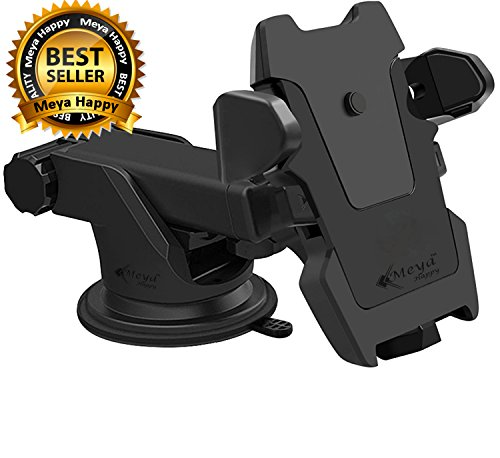 """Meya Happyâ""""¢ Car Mobile Holder For Car Windshield Glass, Car Dashboard 