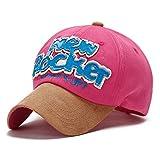Kuyou Herren Baseball Cap schwarz blau Einheitsgröße, Hot Pink, Einheitsgröße