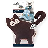 #8: All For Paws Vintage - Cutzy Cat - Catnip Filled Cat Toys 1 Pc