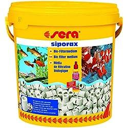 Sera Medio filtrante biológico autolimpiante de alto rendimiento en forma de anillo para el acuario Professional siporax (15mm)