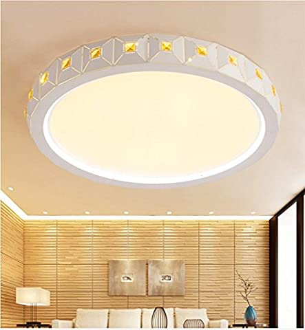LighSCH Mode Salon plafond lumineux lampe Led 40cm Diamètre Restaurant gradation sans électrodes