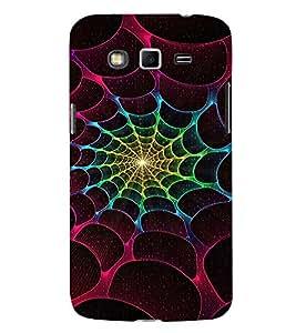 EPICCASE Spider Web Mobile Back Case Cover For Samsung Galaxy Grand Prime (Designer Case)