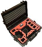 Premium Transportkoffer, Koffer für DJI Phantom 4 Pro/Pro+/V1.0/2.0/ADV/ADV+/Obsidian. Kopter mit 6 Akkus + viel Zubehör, mit speziellem Gimbalschutz, Wasserdichter Outdoor Case IP67, (schwarz)