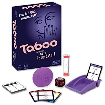 Taboo - Jeu de societe Taboo Classique - Jeu de réflexion - Version française
