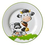 Ritzenhoff & Breker Heidi Teller, Kinderteller, Dessertteller, Speiseteller, Porzellan, Ø 20.5 cm, 045222
