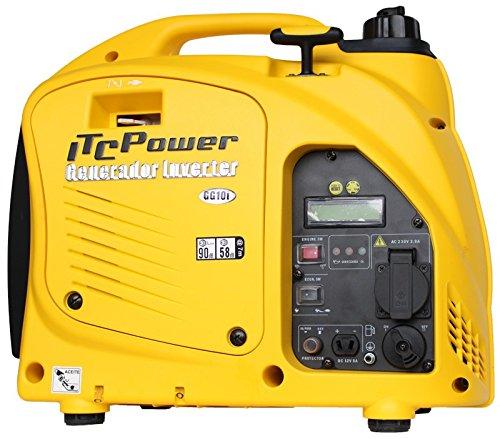 ITCPower GG10i Stromerzeuger, 1000 W, 230 V, Gelb, klein -
