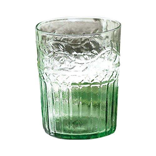 Wasserglas-Set mit Relief, je 400 ml, 6 Stück -