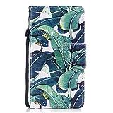 Chreey Coque iPhone 5 5S Se, Modèle de Mode Étui en Cuir PU Magnétique Flip Cover...
