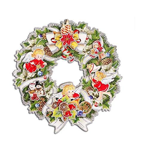 ufengker-buon-natale-floccaggio-corona-di-natale-angelo-di-natale-pupazzo-di-neve-regali-di-natale-3