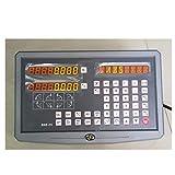 2-Achs-Digitalanzeige DRO-Anzeige mit linearem Längenmessgerät mit linearem Maßstab von 100-1020 mm für Fräsdrehmaschinen