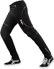 d.Stil Herren Fahrradhose Lang Thermo Atmungsaktiv MTB Radsport Radhose M - 2XL