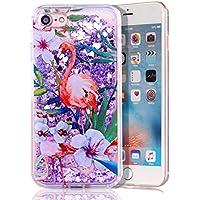 iPhone 7 Flüssig Hülle,iPhone 7 Glitzer Hülle,Soft TPU Case Hülle für iPhone 7,Niedliche Klar Flexible Cool 3D... preisvergleich bei billige-tabletten.eu