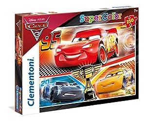 Clementoni 29747 Puzzle Puzzle - Rompecabezas (Puzzle Rompecabezas, Dibujos, Niños, Disney Cars 3, Niño/niña, 7 año(s))