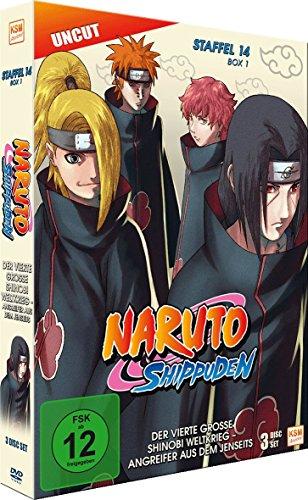 Naruto Shippuden - Staffel 14 - Box 1 (Episoden 516-528, Uncut) [3 Disc Set]