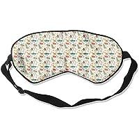 Comfortable Sleep Eyes Masks Animals Pattern Sleeping Mask For Travelling, Night Noon Nap, Mediation Or Yoga preisvergleich bei billige-tabletten.eu