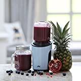 Ovation 450W Active Personal Blender Smoothie Maker with Mason Jar and Sports Cup - Baby Blue