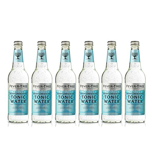 fever tree mediterranean tonic Fever Tree Mediterranean Tonic Water 0,5 Liter Flaschen, 6er Pack (6 x 500 ml)