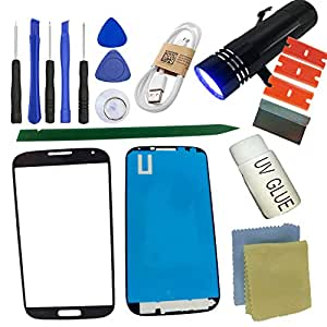 S4 Front Glass Screen Replacement Kit