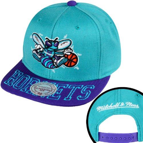 Mitchell & Ness - Casquette Snapback Homme Charlotte Hornets Visor Hit