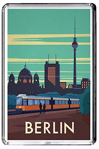 B353 BERLIN GERMANY KÜHLSCHRANKMAGNET GERMANY VINTAGE TRAVEL PHOTO REFRIGERATOR MAGNET