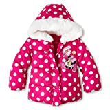 Disney Winterjacke 68/74 Mädchen pink US SIZE 6-12 month Anorak mit Kapuze girl jacket Winter Minnie mouse