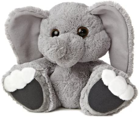 Aurora World Taddle Toes Toes Toes Stomper Elephant Plush, 10  Tall by Aurora World Inc. 90742f