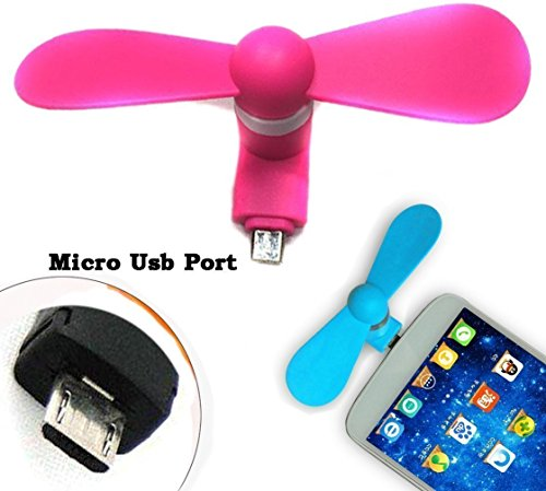 Mobiwear Mobile USB Fan/ Portable USB fan/ Mini Mobile Cooler/ Mini USB fan for Android,Samsung Galaxy S6/S4/S3/S2,Note 4/2,HTC ONE M8 M9,Google Nexus 7/6/5/4,LG,Motorola ATRIX,Nokia And More (Multi colour)  available at amazon for Rs.149