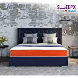 SleepX Presented by Sleepwell Dual mattress - Medium Soft and Hard (78*60*5 Inches)