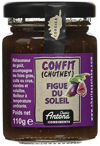 Charles Antona Chutney Figue du Soleil 110 g - Lot de 6