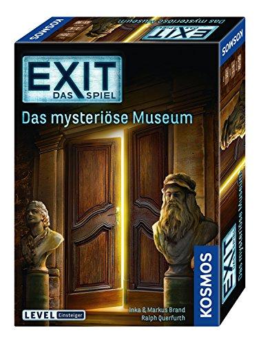 KOSMOS 694227 - EXIT - Das Spiel, Das mysteriöse Museum, Level: Einsteiger, Escape Room Spiel, für 1 bis 4 Spieler ab 10 Jahren, einmaliges Event-Spiel für Erwachsene und Kinder -